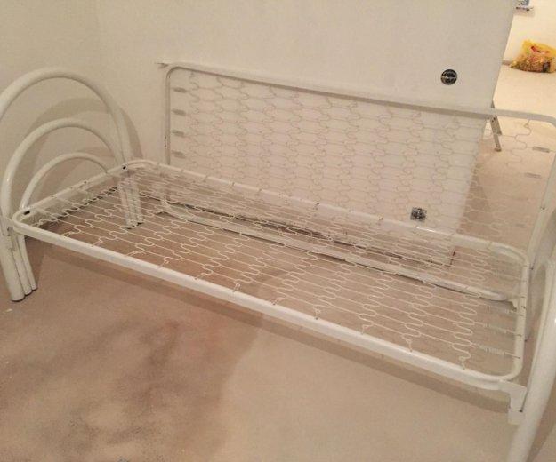 Кровать одноярусная стандарт. Фото 3. Мурино.