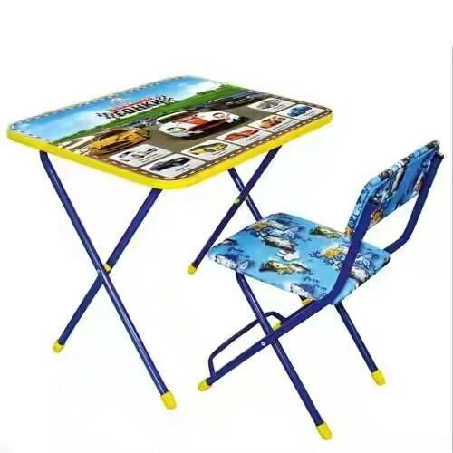 Новый комплект детский стол и стул. Фото 4. Москва.