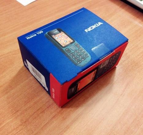 Nokia 100 коробка от телефона. Фото 3. Москва.