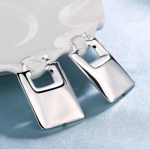 Серебряные серьги. Фото 1. Ставрополь.