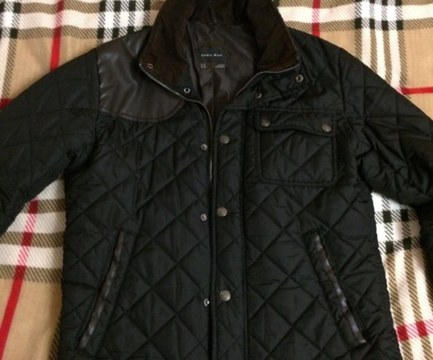 Куртка мужская zara. Фото 1. Люберцы.