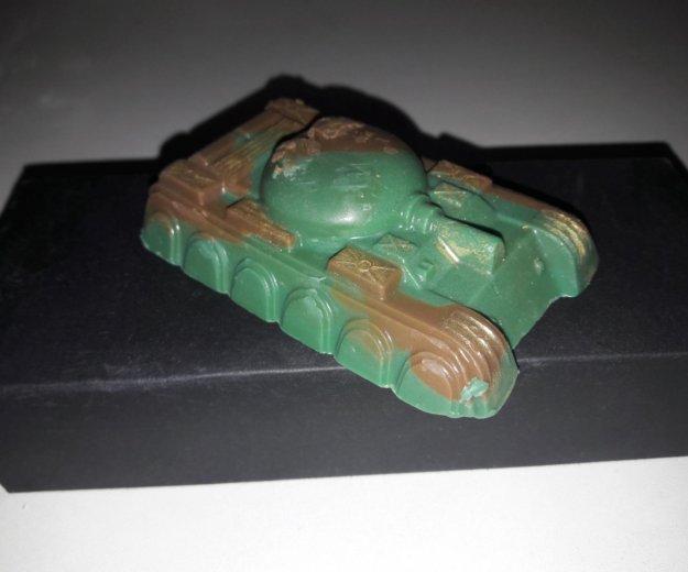 Мыло в форме советского танка т-54. Фото 2. Москва.