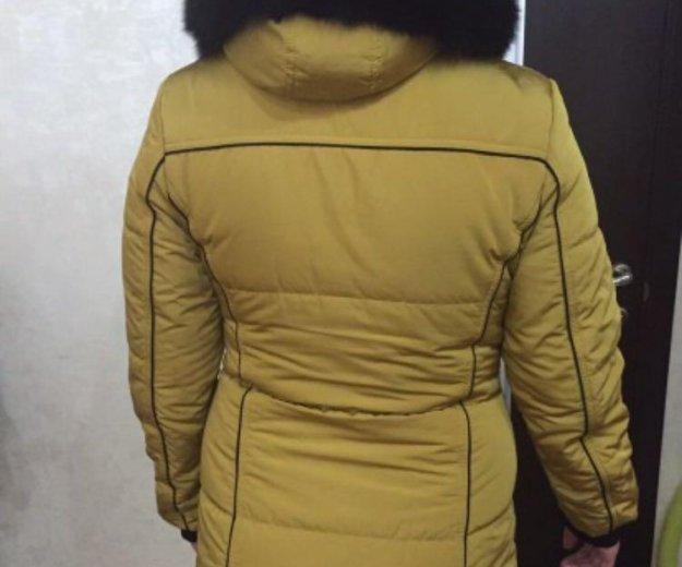 Зимняя куртка с натуральным мехом. Фото 3. Бор.