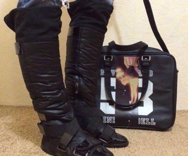 Сапоги и сумка. Фото 1. Омск.