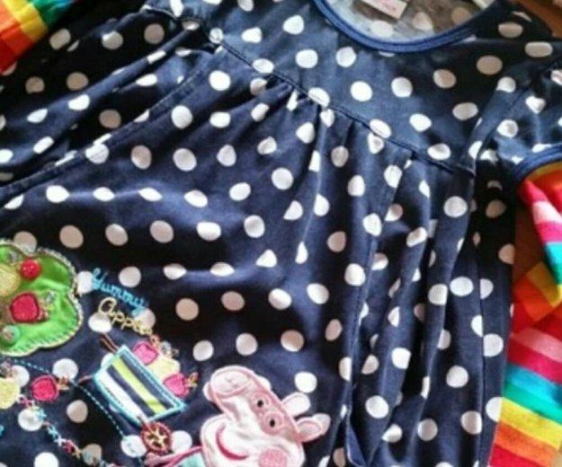 Платье пеппа для девочки. Фото 2. Москва.