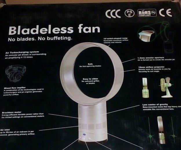Вентилятор без лопастной новый без коробки . Фото 1. Люберцы.