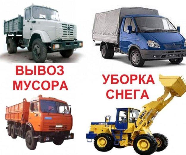 Вывоз строительного мусора. вывоз снега. Фото 1. Екатеринбург.