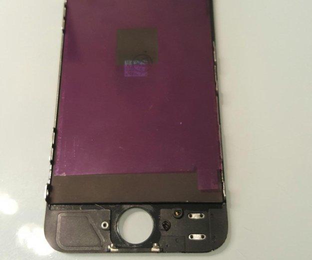 Сенсорный экран на айфон 5 (с заменой). Фото 2. Волгоград.