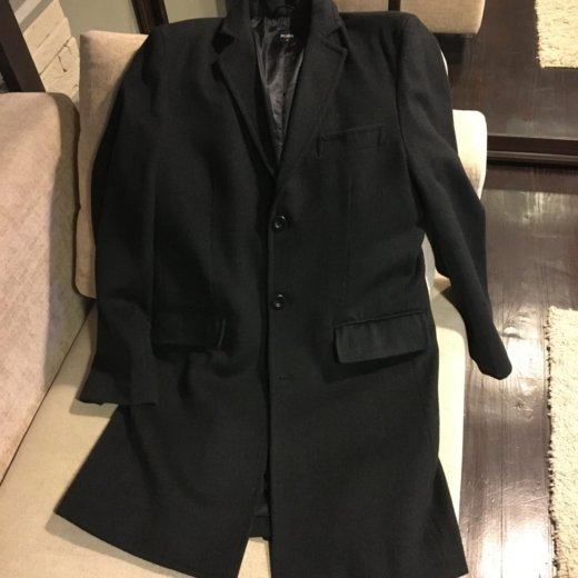 Шерстяное пальто zolla. Фото 1. Тюмень.