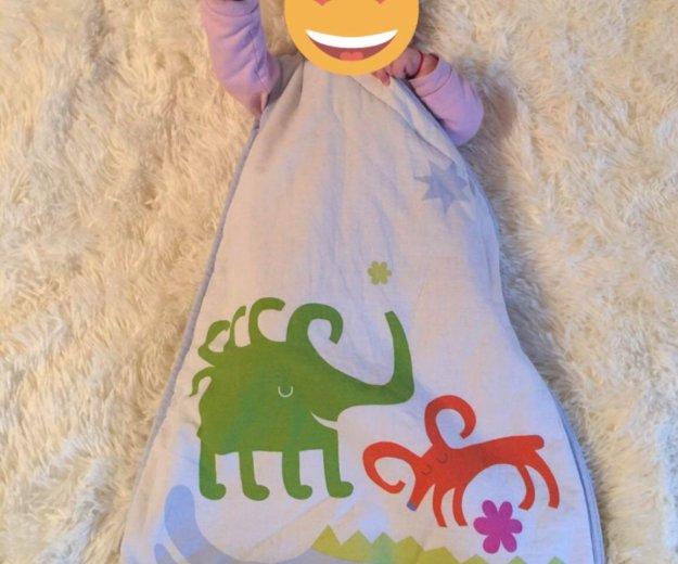 Спальный мешок для новорождённого о-6 мес. Фото 1. Краснодар.