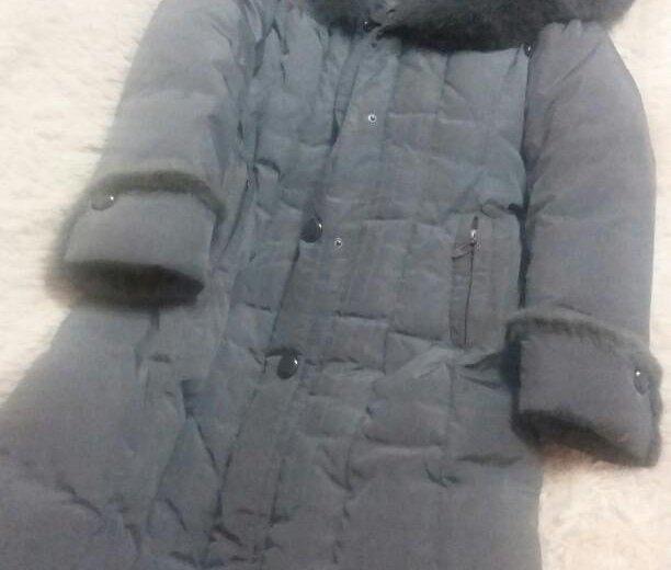 Зимний длинный пуховик. Фото 1. Тольятти.