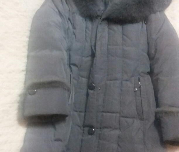 Зимний длинный пуховик. Фото 2. Тольятти.