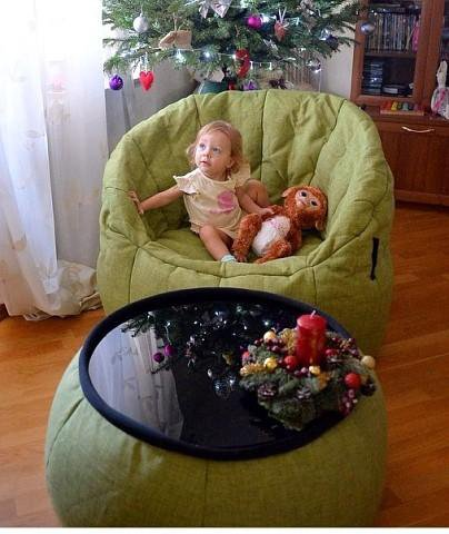Бескаркасное кресло. Фото 1. Москва.