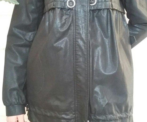 Куртка кожнная. Фото 3. Агалатово.