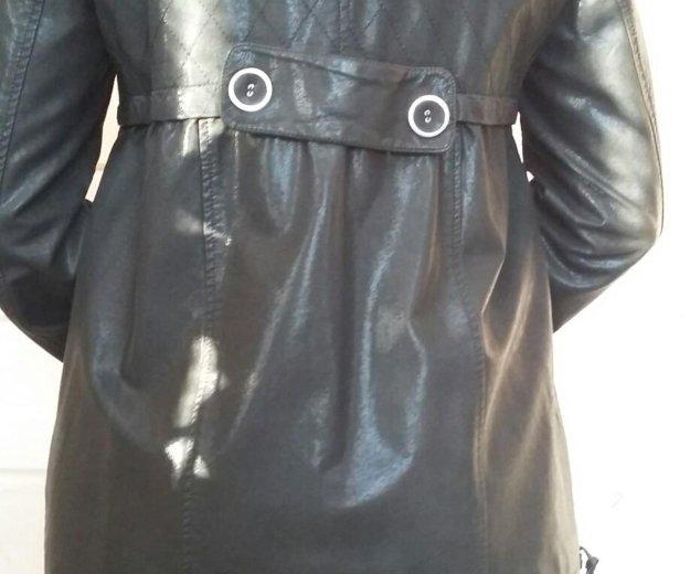 Куртка кожнная. Фото 2. Агалатово.