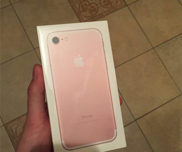 Iphone 7 32gb rose gold( магазин/гарантия). Фото 2. Санкт-Петербург.