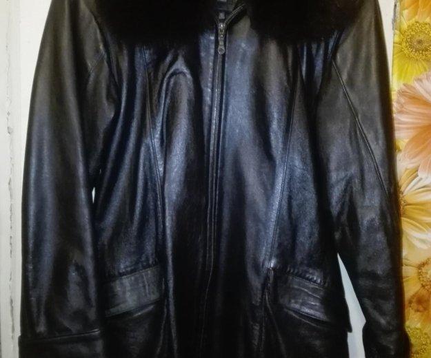 Кожаная куртка. Фото 2. Мытищи.