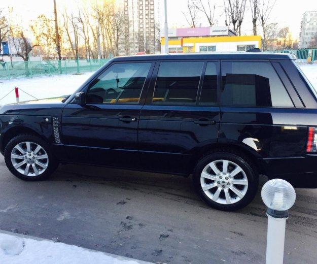 Reng rover. Фото 1. Москва.
