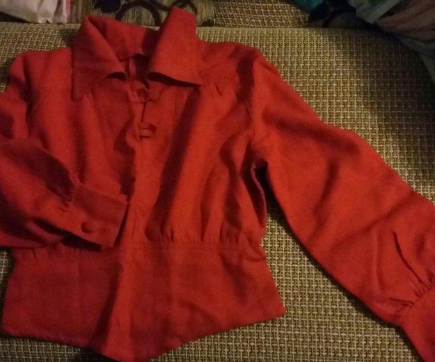 Блуза красная. Фото 1. Кстово.