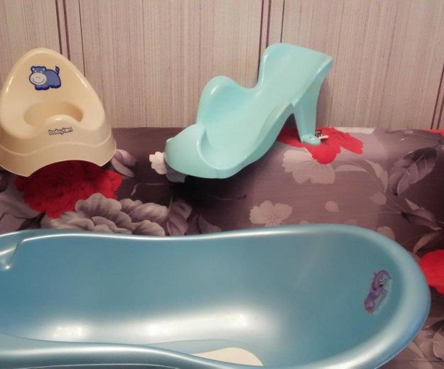 Ванночка , горка для купания и горшок. Фото 1. Челябинск.