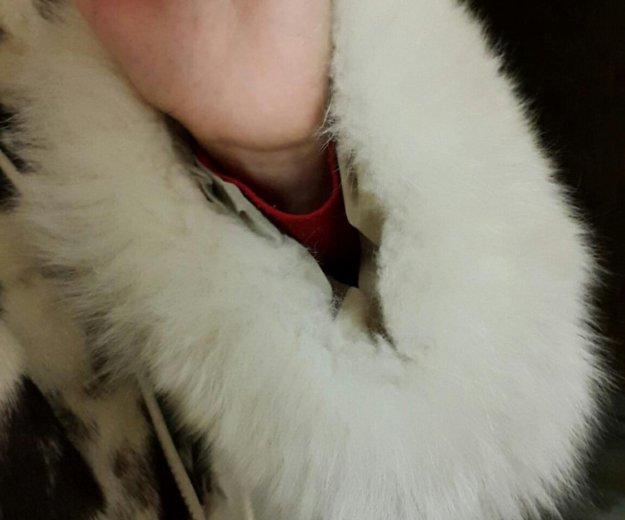 Шуба норковая из кусков. Фото 2. Ижевск.