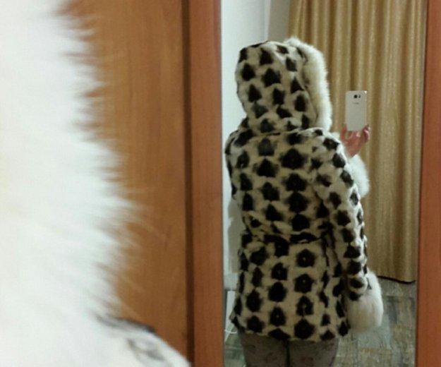 Шуба норковая из кусков. Фото 3. Ижевск.