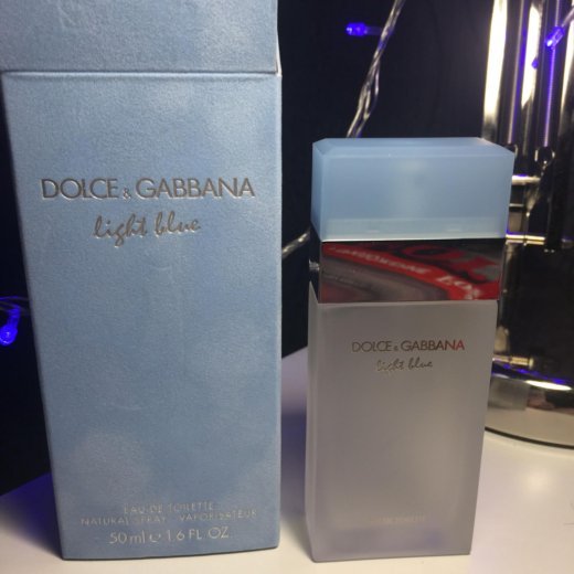 Женские dolce and gabbana light blue 50ml. Фото 1. Москва.