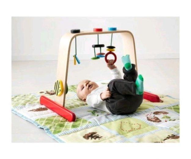 Тренажер турничек для малыша. Фото 2. Лесной Городок.