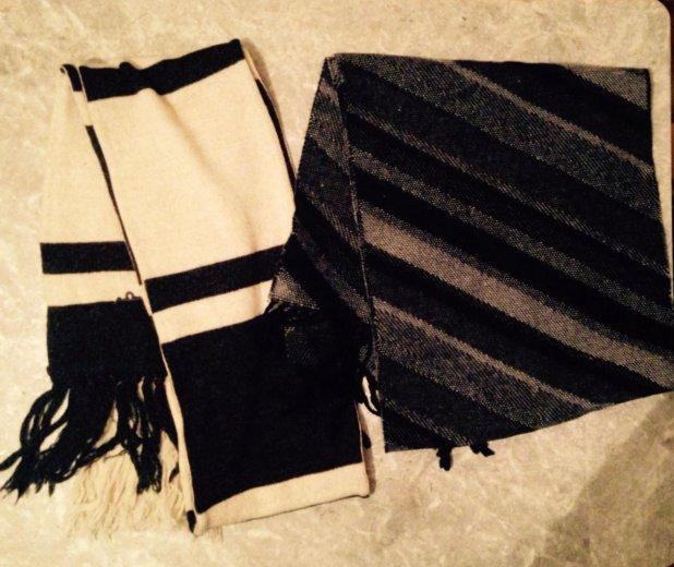 Зимние шарфы, шапки. Фото 2. Москва.