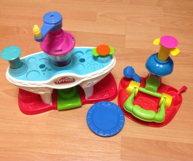 Play-doh фабрика мороженого+кексы набор пластилина. Фото 1. Москва.