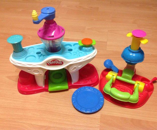 Play-doh фабрика мороженого+кексы набор пластилина. Фото 2. Москва.