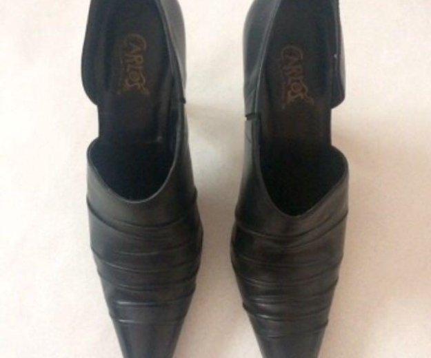 Кожаные туфли carlos by carlos santana. Фото 2. Москва.