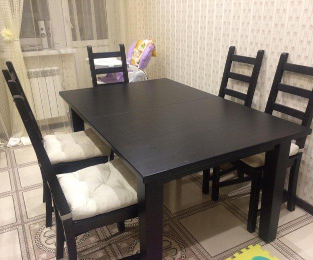 Стол и стулья. Фото 4. Казань.