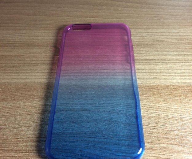 """Чехол iphone 6/6s """"фиолетово-синий"""". Фото 1. Санкт-Петербург."""