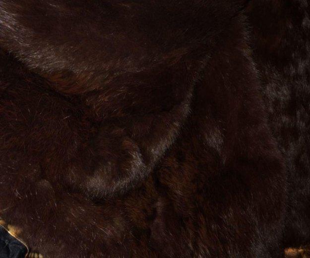 Зимнее пальто с натуральным мехом. Фото 2. Москва.