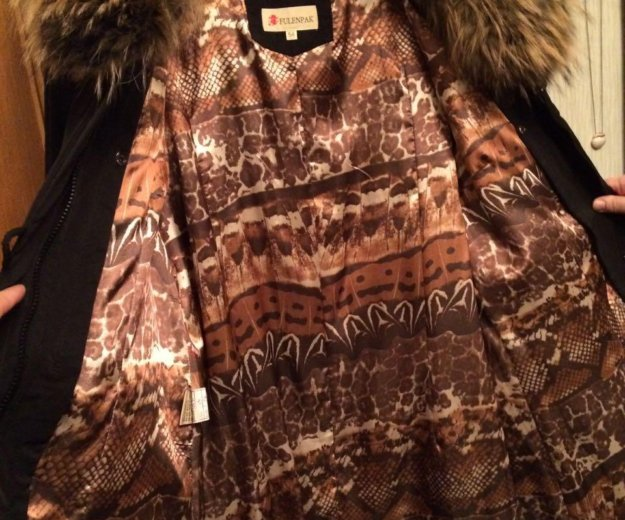 Зимнее пальто с натуральным мехом. Фото 4. Москва.