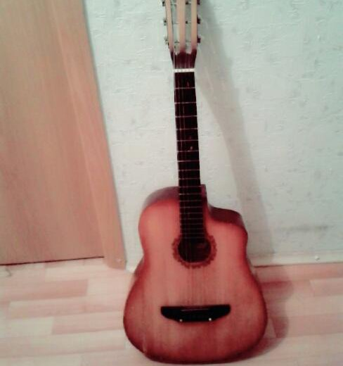Гитара. Фото 1. Челябинск.