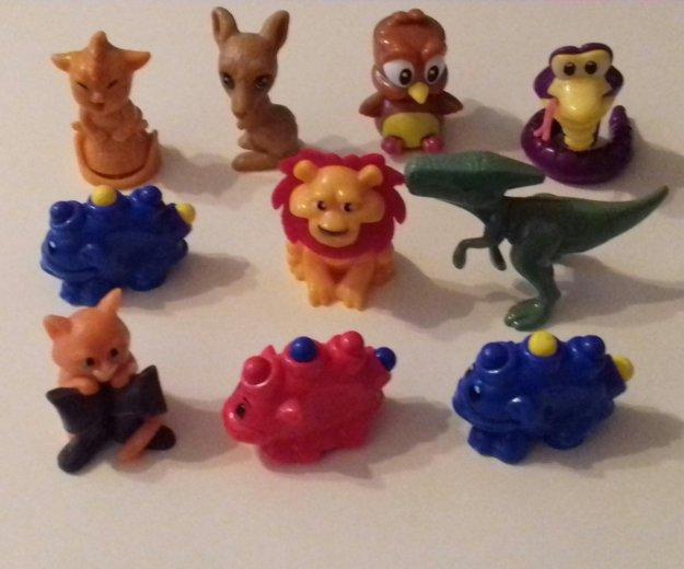 Игрушки из киндер-сюрприза. Фото 4. Мытищи.