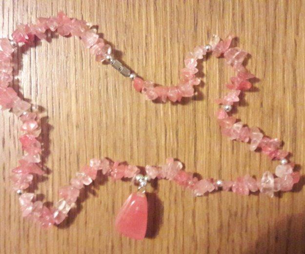 Розовый кварц (бусы). Фото 1. Волгоград.