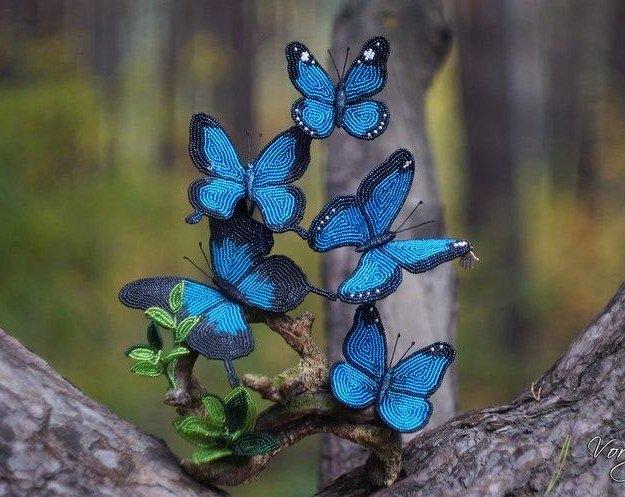 Бабочки ручная работа. Фото 1. Орел.