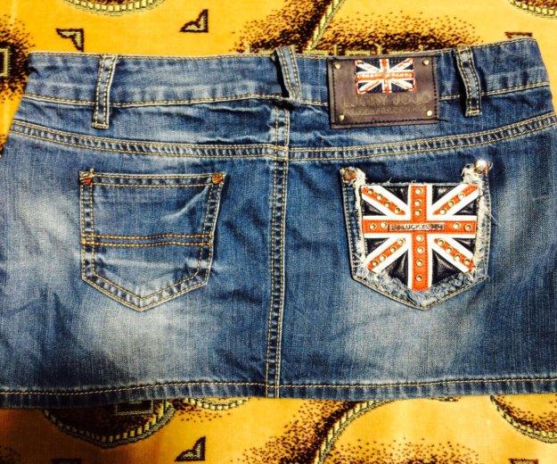 Джинсовая мини юбка. Фото 1. Краснодар.