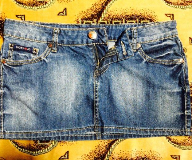 Джинсовая мини юбка. Фото 2. Краснодар.