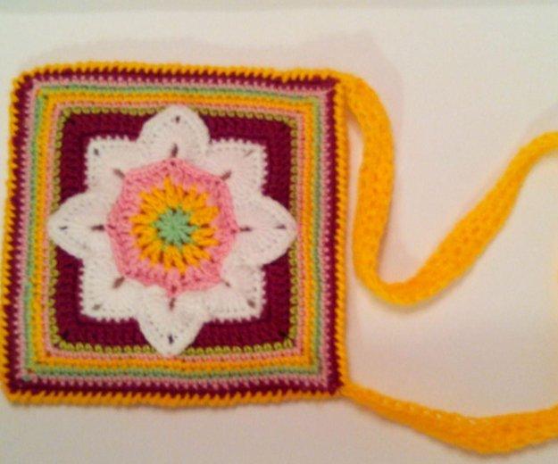 Новая вязанная сумочка. Фото 2. Юбилейный.