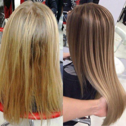 Стрижки и окрашивания , наращивание волос. Фото 3. Кореновск.
