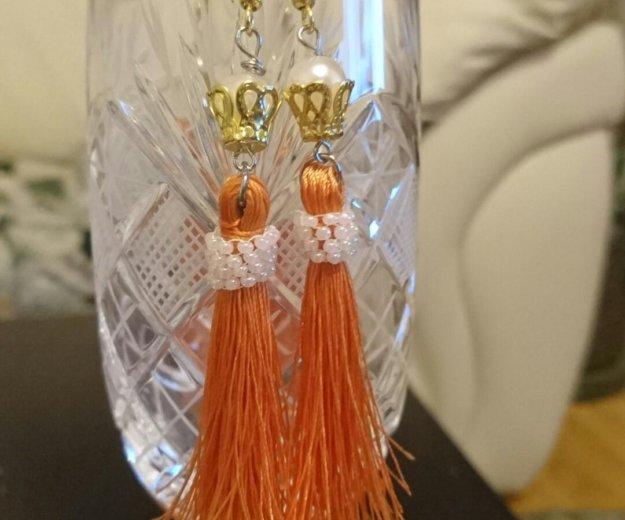 Красивые серьги для мамы и дочки принцессы. Фото 2. Апрелевка.