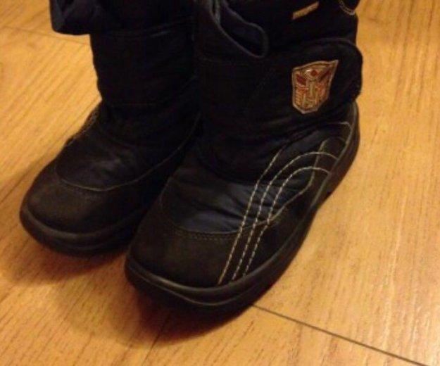 Детские сапоги зимние ботинки skandia tex скандиа. Фото 1. Москва.