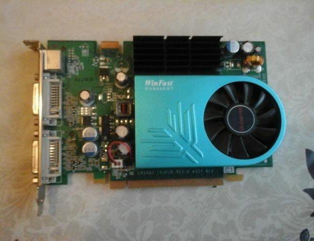 Видеокарта 8600 gt 512 mb. Фото 1. Тихорецк.