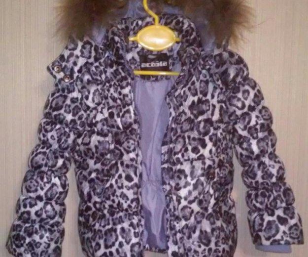 "Зимняя куртка ""acoola"" р.92-98. Фото 1. Саратов."