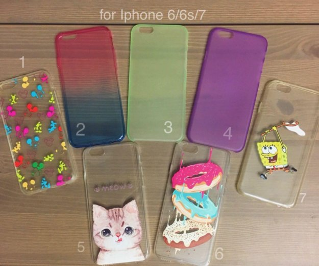 Чехлы для iphone 6/6s и 5/5s/se. Фото 1. Москва.