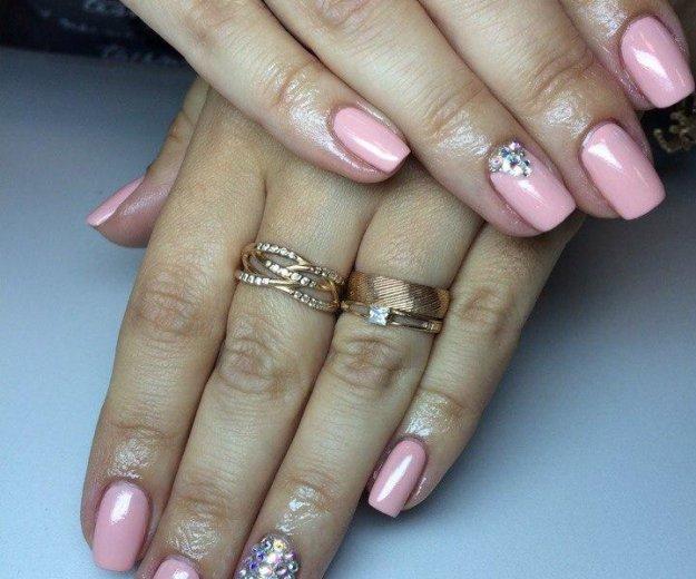 Покрытие ногтей shellac,наращивание ногтей. Фото 3. Рязань.